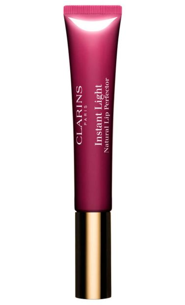 Clarins Instant Light Natural Lip Perfector - Plum Shimmer