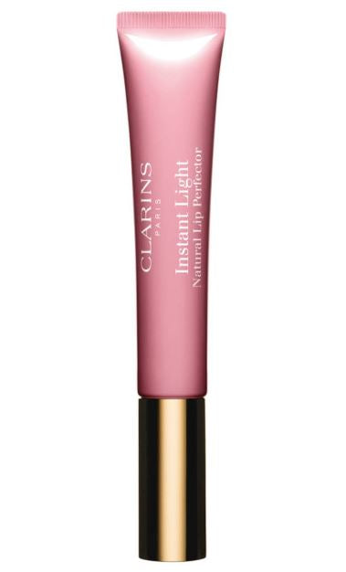Clarins Instant Light Natural Lip Perfector - Toffee Pink Shimmer