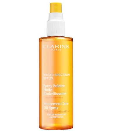 Clarins Sunscreen Care Radiant Oil Spray SPF 30