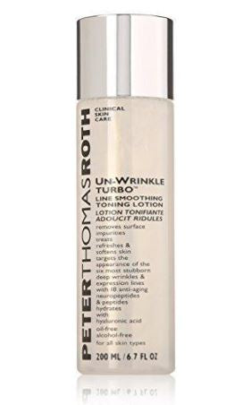 Peter Thomas Roth Un-Wrinkle Turbo Line Smoothing Toning Lotion, 6.7 Fluid Ounce