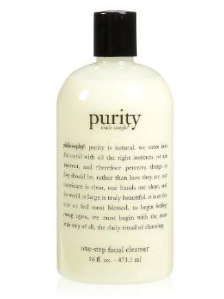purity made simple one-step facial cleanser (16oz)