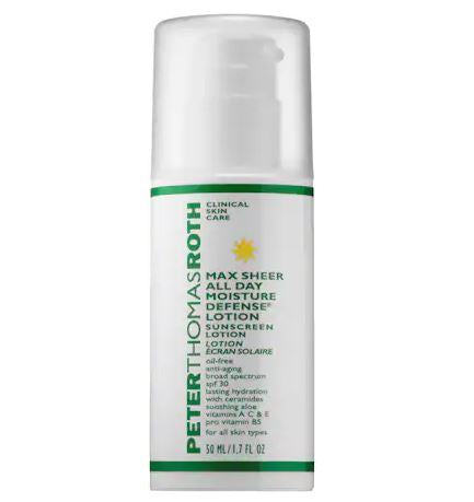 Peter Thomas Roth Max Sheer All Day Moisture Defense Lotion With Spf 30, 1.7 Ounce
