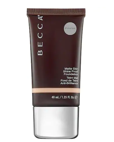 Becca Matte Skin Shine Proof Foundation, Porcelain, 1.35 Ounce
