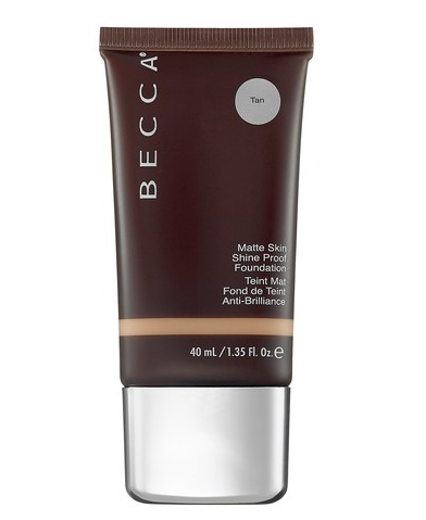 Becca Matte Skin Shine Proof Foundation, Tan, 1.35 Ounce
