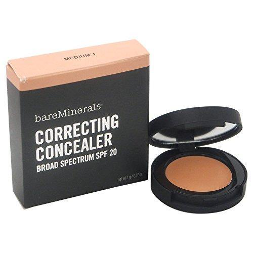 Bare Escentuals SPF 20 Correcting Concealer In Medium 1, 2 Gram / 0.07 Ounce