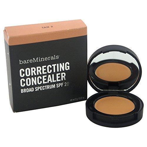 bareMinerals Correcting SPF 20 Tan 2 Concealer for Women, 0.070 Ounce