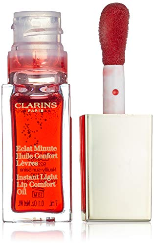 Clarins Instant Light Lip Comfort Oil - 03 Red Berry 0.1 Oz