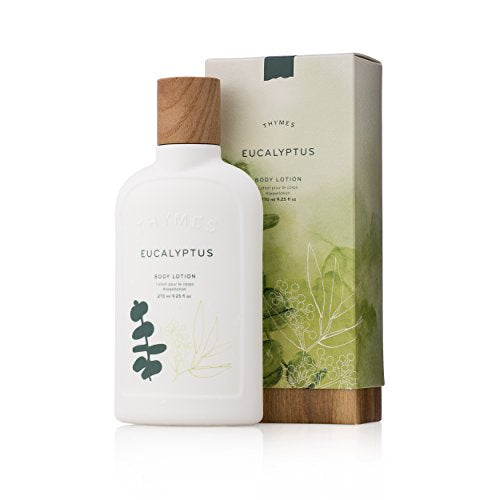 Thymes - Eucalyptus Body Lotion - With Moisturizing Shea Butter and Rejuvenating Eucalyptus Oil & Aloe Vera - 9.25 oz