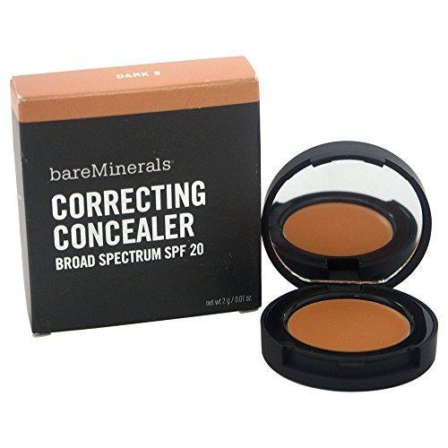bareMinerals Correcting SPF 20 Dark 2 Concealer for Women, 0.070 Ounce