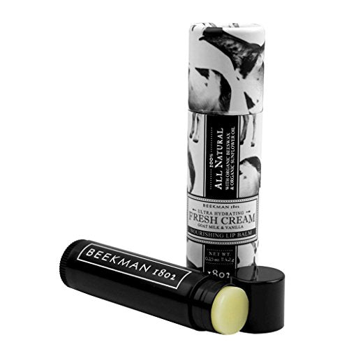 Beekman Fresh Cream Lip Balm (Vanilla Absolute)