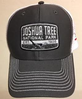 Dark Gray Mesh Adult Hat