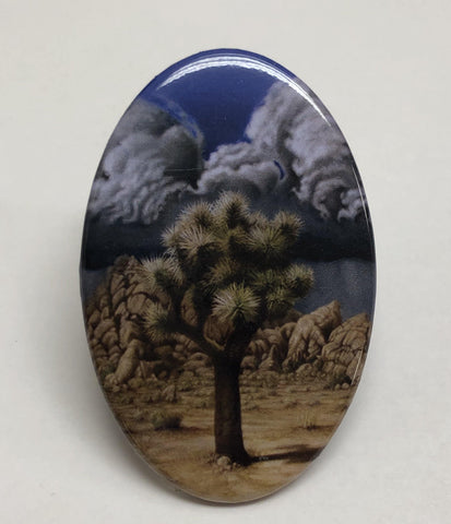 Joshua Tree Oval Magnet