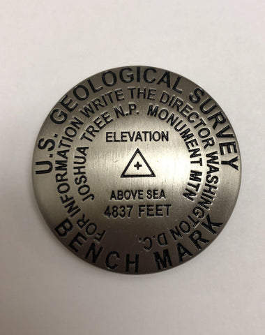 U.S. Geological Survey Bench Mark Magnet