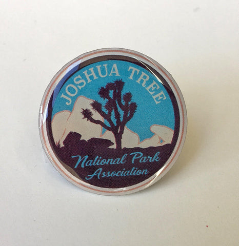 Joshua Tree National Park Association Logo Pin