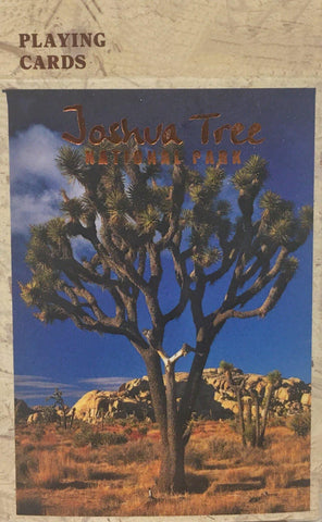 Joshua Tree National Park Playing Cards
