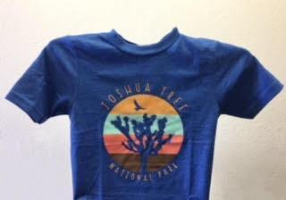 Wild Tribute Kids Blue Shirt