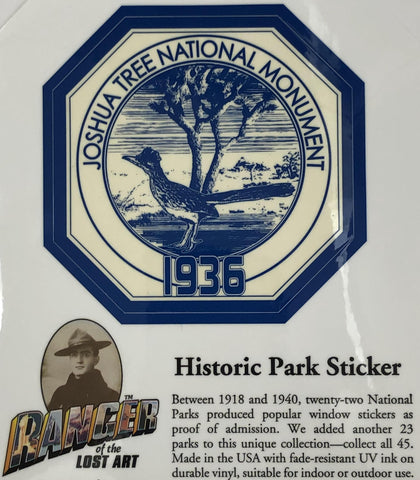 Historic Park Sticker