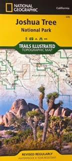 JTNP Trails Illustrated Topographic Map
