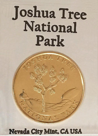 Joshua Tree National Park Collector Coin