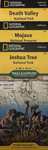 National Geographic National Parks Map Pack