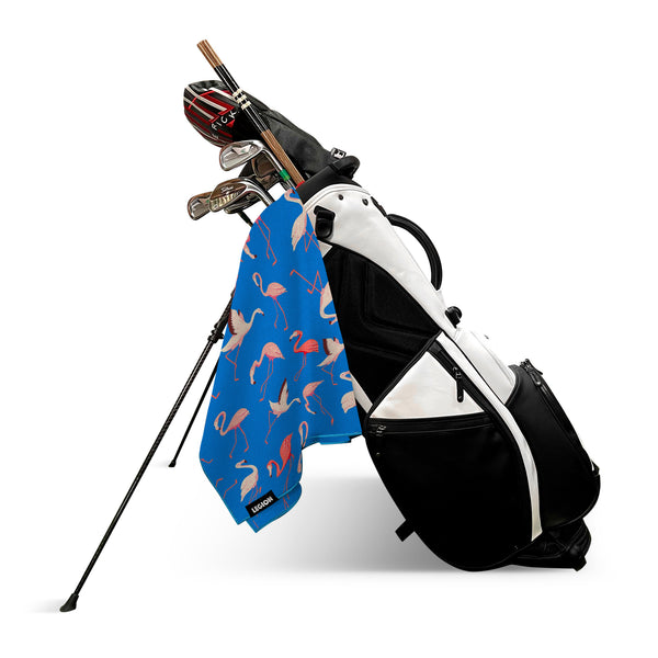 Flamingo Tour Golf Towel