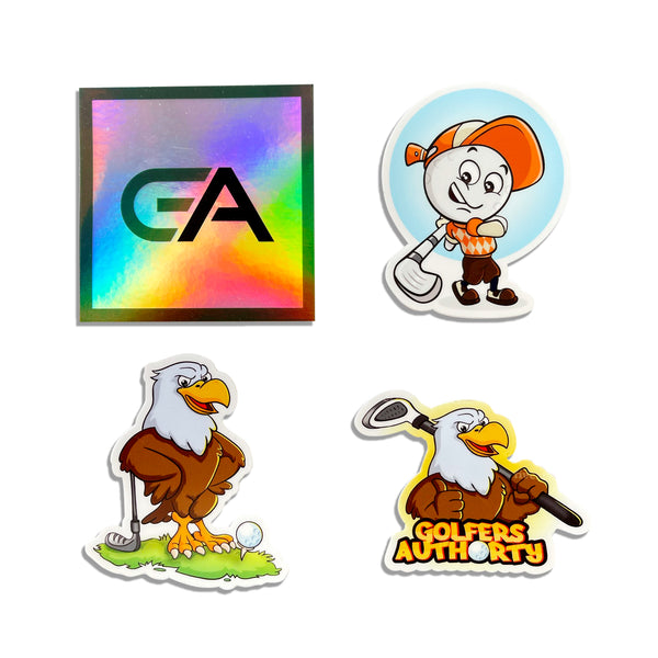 Golfers Authority Birdie Sticker Pack