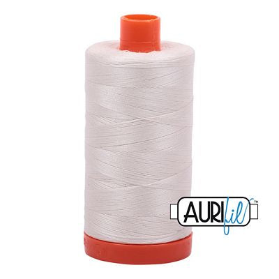 Aurifil Thread 50 wt. 1422 Yards/1300 Meters 2311 MUSLIN