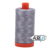 Aurifil Thread 50 wt. 1422 Yards/1300 meters 2605 GRAY