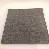 "Grey Wool Pressing Mat 12"" X 18"""
