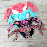 Mixed Bikini Bottoms New Swimsuit  Women  Bikinis Bottom Vintage Swimwear Bow Brand Biquini Bikiny Sexy secret Swim Suit