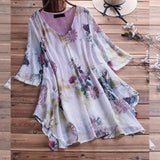 Large Size Women's Shirt Cotton And Linen Plus Size 5XL 6XL 7XL 8XL 9XL Summer V-neck Short-sleeved Loose White Top