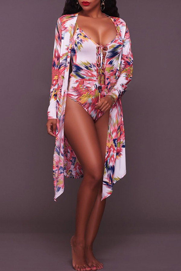 Print Rober & Swimsuit