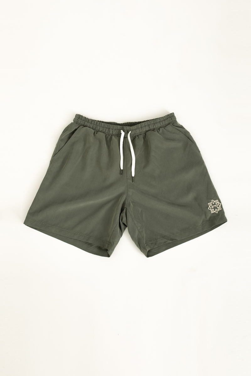 Lightweight walk shorts In Washed sage