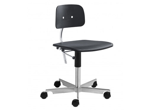 Subscription_OMNI_Kevi_2533_Joergen Rasmussen_Black_office_chair_classic_four_legged_meeting_conference_room