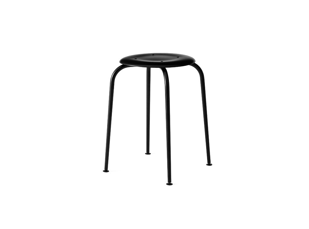 Subscription_OMNI_Labofa_Heritage_Collection_office_small_stool_chair_black_classic_four_legged_modern_Danish_light_weight