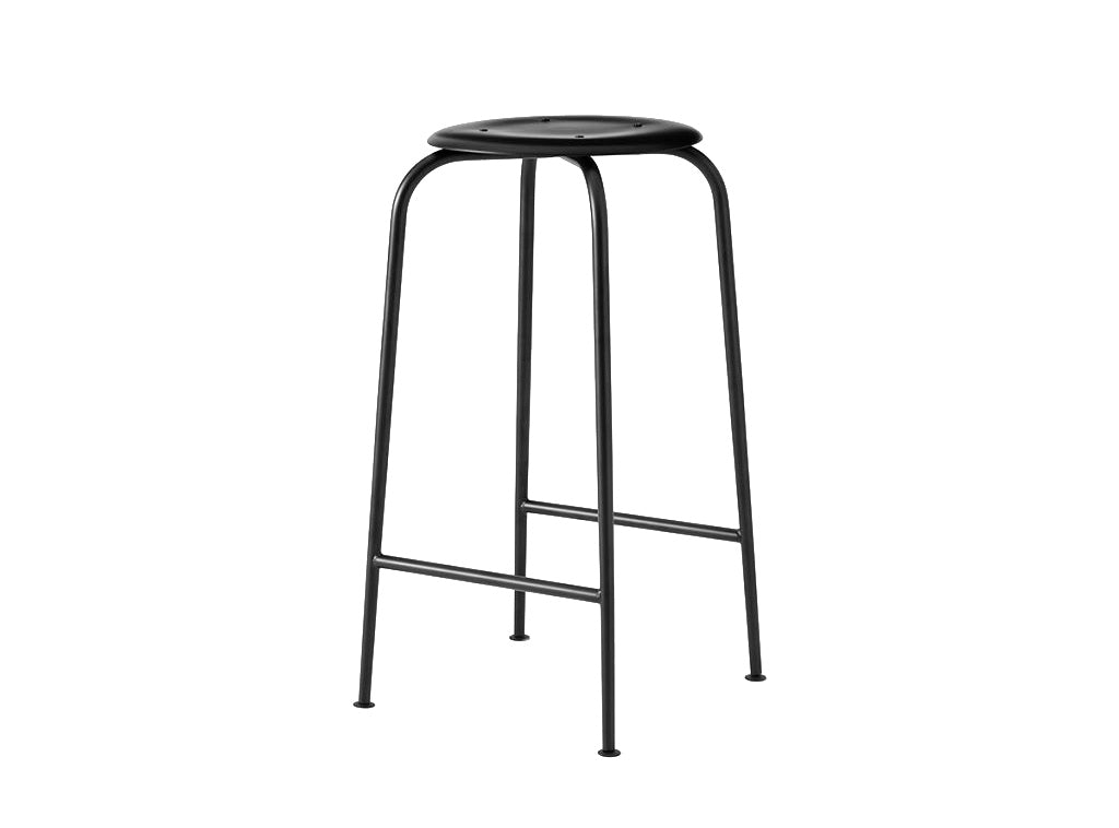 Subscription_OMNI_Labofa_Heritage_Collection_office_medium_stool_chair_black_classic_four_legged_modern_Danish_design