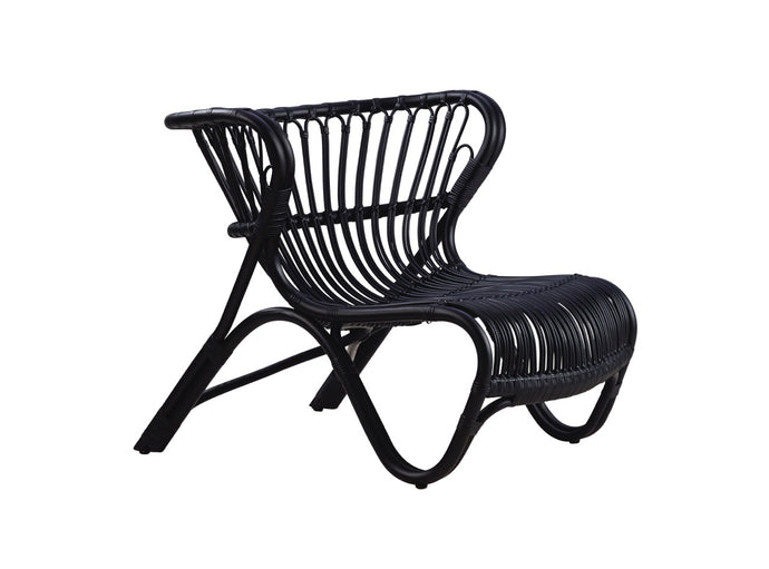 Subscription_OMNI_Viggo_Boesen_Fox_Chair_design_Black_furniture_office_comfortable_light_airy_elegant_bent_rattan