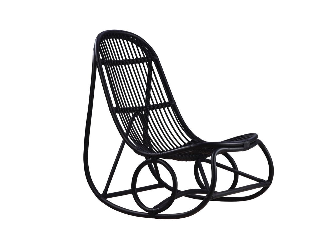 Subscription_OMNI_Nanna_Ditzel_The_Rocking_Chair_design_Black_furniture_office_comfortable_light_airy_bent_rattan_frame