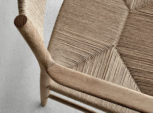 ARV Chair, Armed Oak & Weave