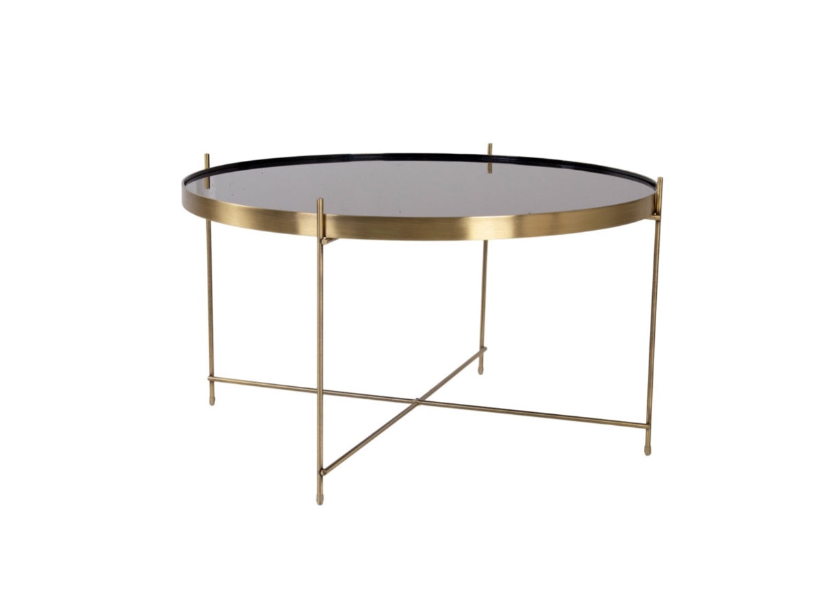 Subscription_OMNI_Brass_Coffee_Table_classic_darkened_glass_four_legged_conference_office_meeting_room_Danish_furniture