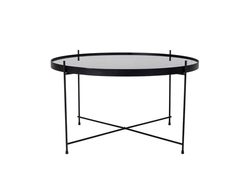 Subscription_OMNI_Steel_Coffee_Table_classic_black_glass_four_legged_conference_office_meeting_room_Danish_furniture_elegant