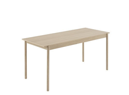 Linear Wood Table, Medium