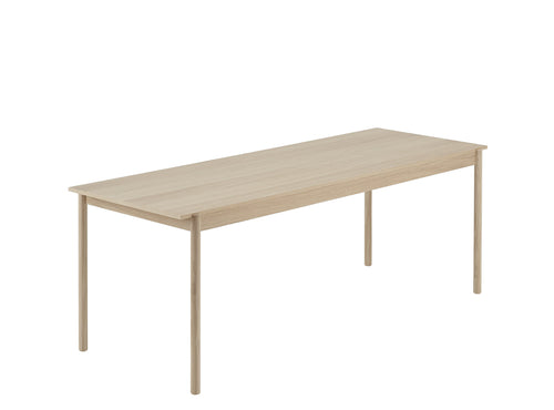 Linear Wood Table, Large