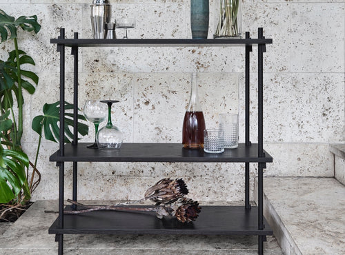 Small Shelving, Black