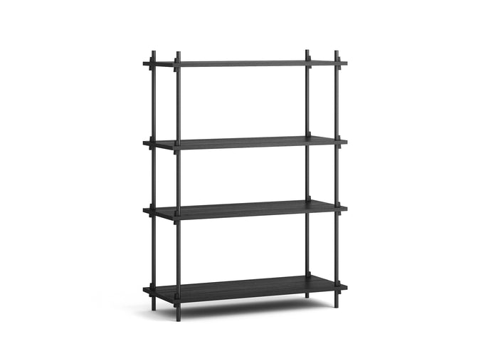 Medium Shelving, Black