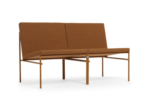 Subscription_OMNI_Munk_Collective_Click_Sofa_for_2_Ochre_Danish_furniture_office_comfortable_elegant_powder_coated_steel