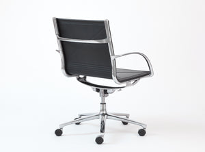 Subscription_OMNI_Anders_Hermansen_Joint_1206_office_chair_black_classic_four_legged_meeting_conference_room_polished_aluminum