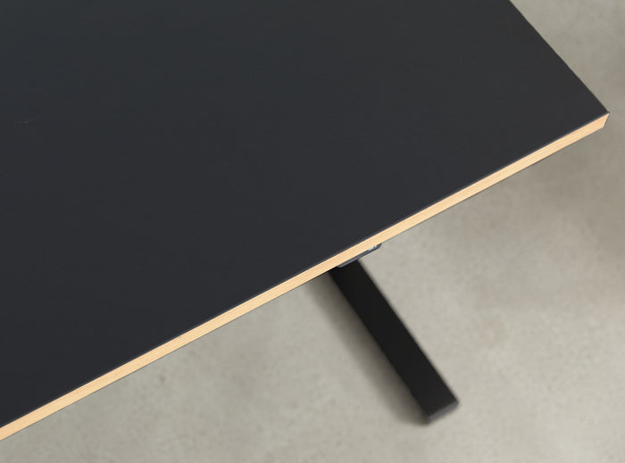 Subscription_OMNI_elevation_desk_Linak_linoleum_charcoal_office_table_custom_oak_frame