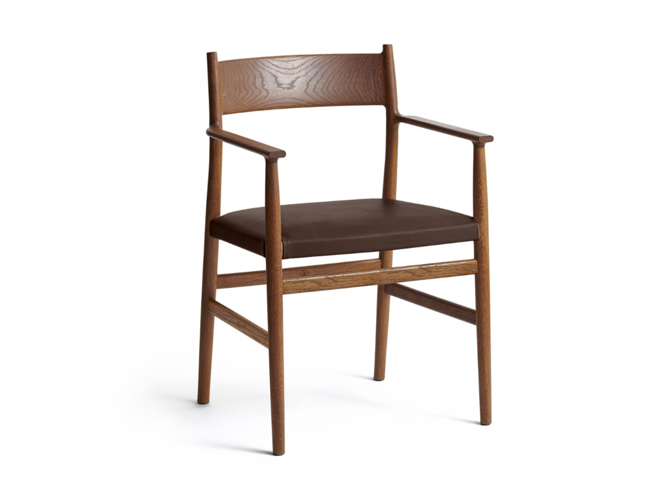 ARV Chair, Armed Smoke & Leather