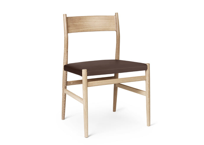 ARV Chair, Oak & Leather